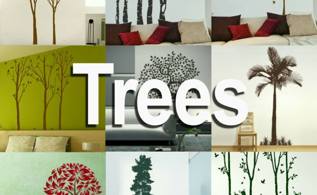 Tree Wall Stickers Giant Home Transfer Graphics Forest