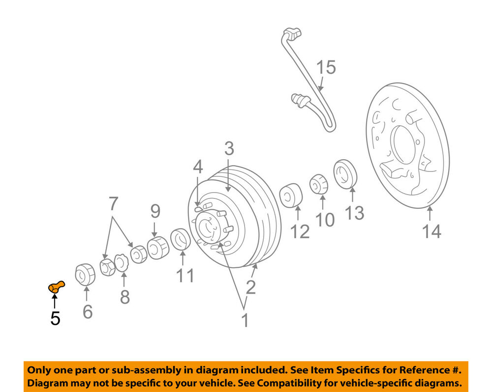 hight resolution of details about dodge chrysler oem 94 01 ram 1500 brake rear washer 4797126