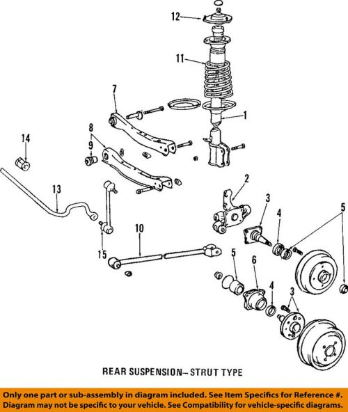 small resolution of details about toyota oem stabilizer sway bar rear bushings 488180e010