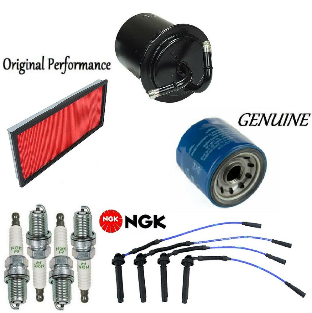 hight resolution of details about tune up kit air oil fuel filters wire plugs for subaru outback h4 2 5l 2000