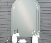 arched bathroom mirrors