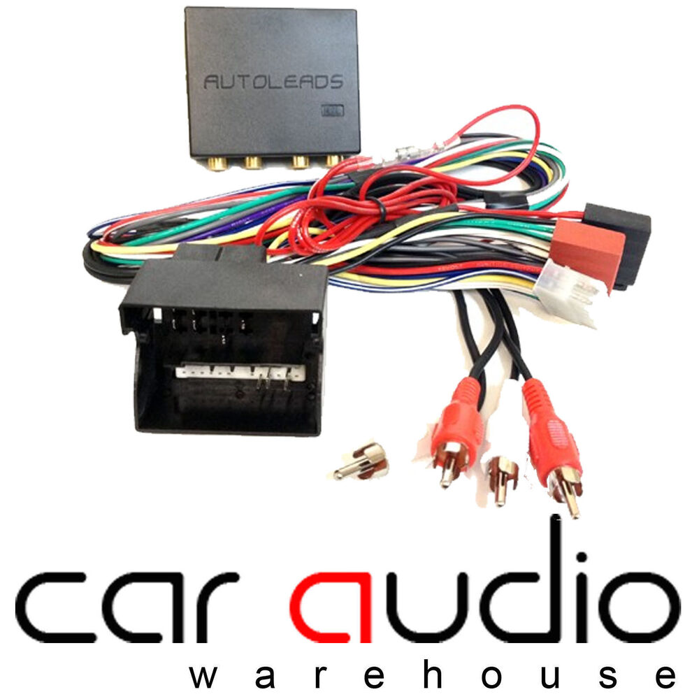 medium resolution of details about audi a3 a4 a6 tt porsche 911 boxter bose amplified car stereo wiring harness