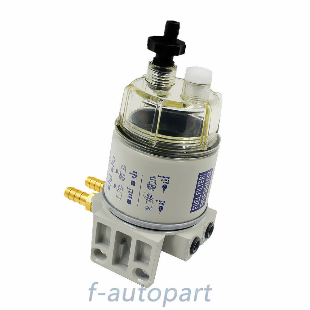 hight resolution of details about new fit for racor r12t marine spin on fuel filter water separator 120at