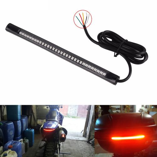 small resolution of details about 1pc flexible 48 led motorcycle car tail brake stop lamp turn signal strip light