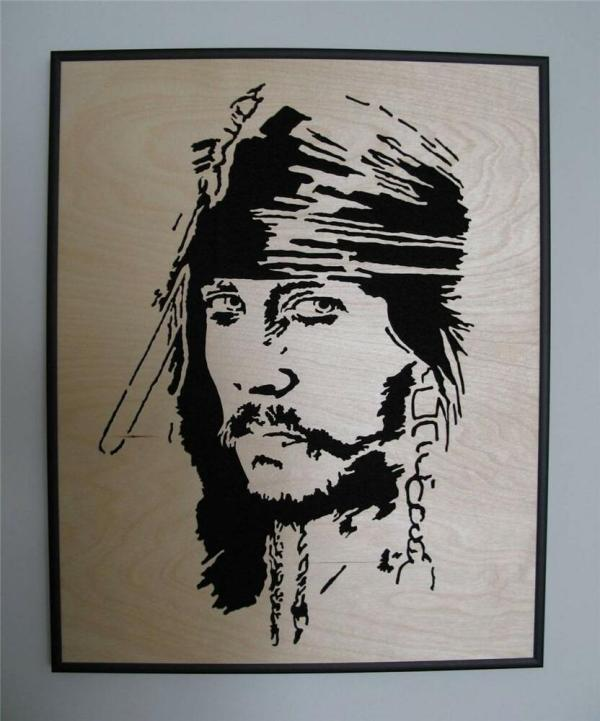 Johnny Depp Jack Sparrow Pop Art