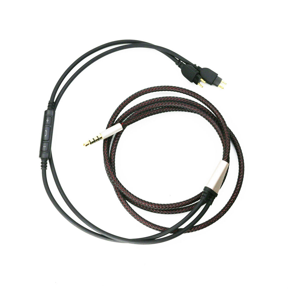 New Cable for Sennheiser HD650 HD600 HD580 Remote volume