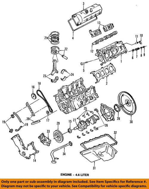 small resolution of details about ford oem engine oil pan 3w7z6675bc