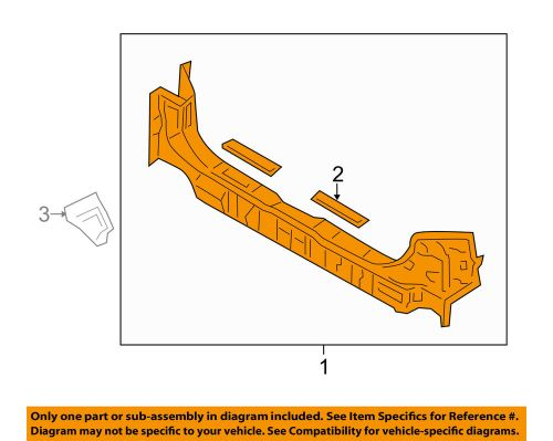 small resolution of details about honda oem 11 17 odyssey floor rails rear rear body panel 65750tk8315zz