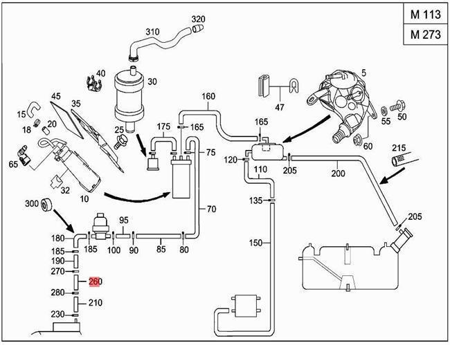 Mercedes 350sl Vacuum Diagram. vacuum diagram mercedes