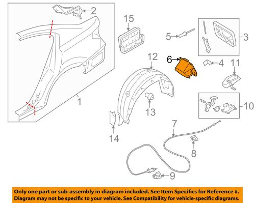 small resolution of details about subaru oem 10 14 legacy fuel tank filler neck tube pipe 51478aj010