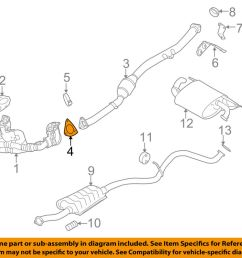 details about subaru oem 11 16 forester 2 5l h4 exhaust converter pipe gasket 44616aa200 [ 1000 x 798 Pixel ]