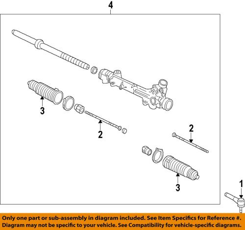 small resolution of details about ford oem 10 14 f 150 steering gear outer tie rod end al3z3a130a