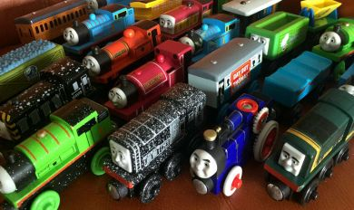 Thomas And Friends Wooden Railway Collection 5 Wooden Thing