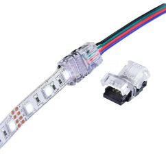 5050 Led Strip Wiring Diagram 2007 Chevy Tahoe Parts Quick Adapter Connector Multi Color Rgb Smd Light