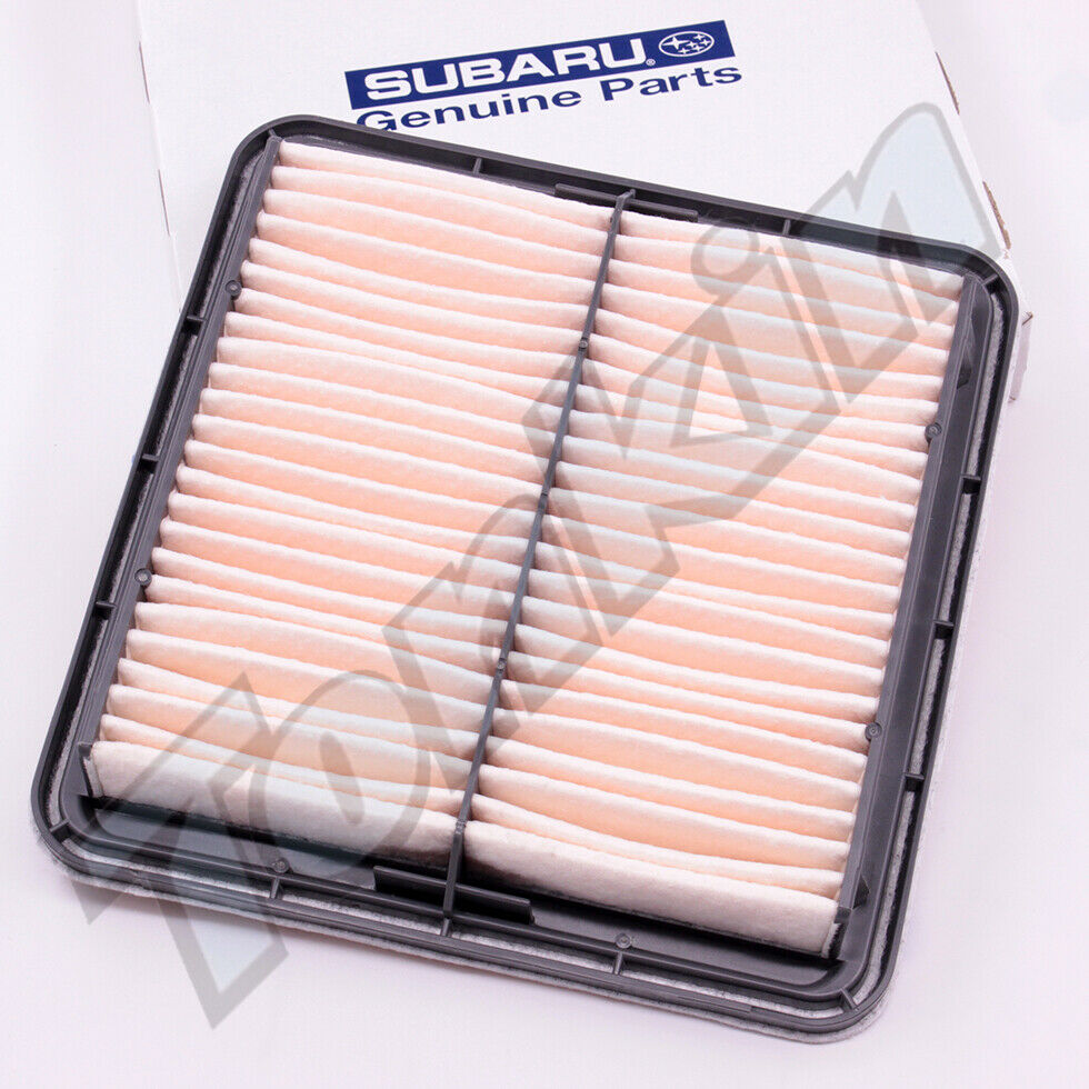 medium resolution of details about subaru oem 05 09 legacy engine air cleaner filter element 16546aa10a