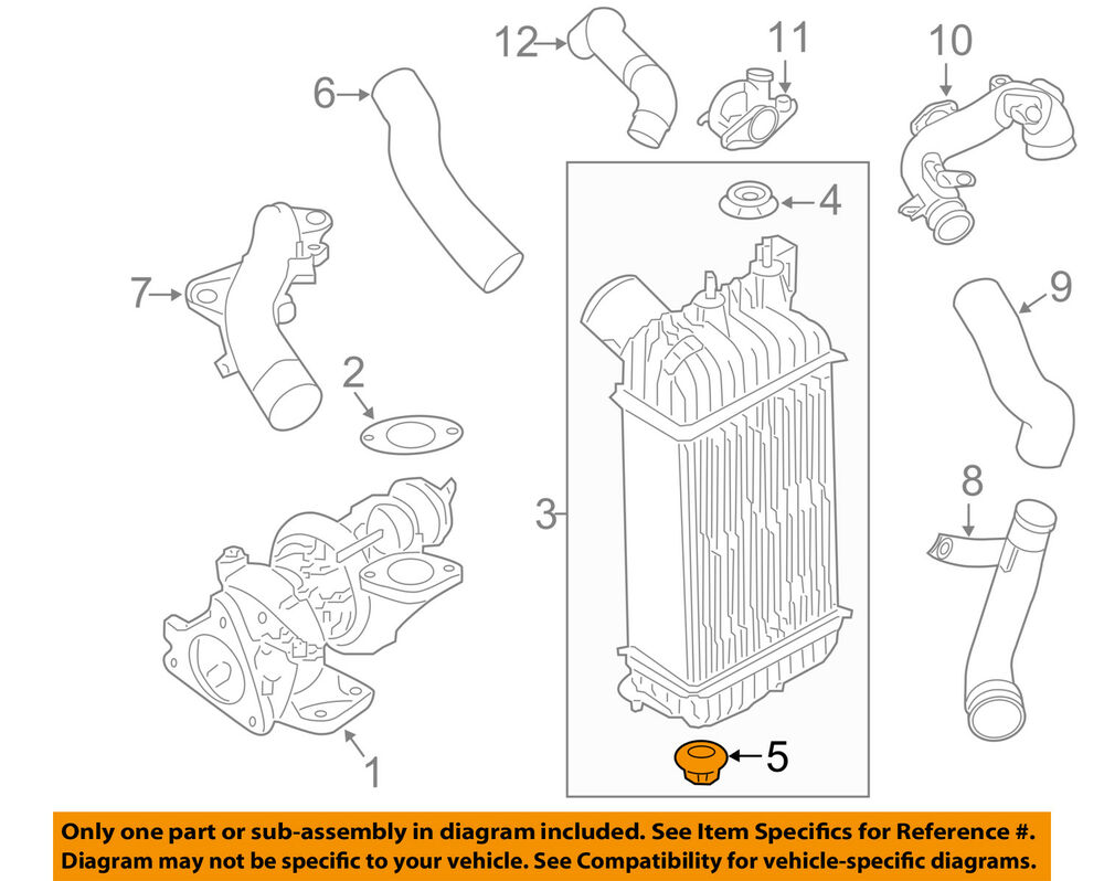 hight resolution of details about nissan oem 09 14 cube 1 8l l4 radiator assembly lower insulator 21507au400
