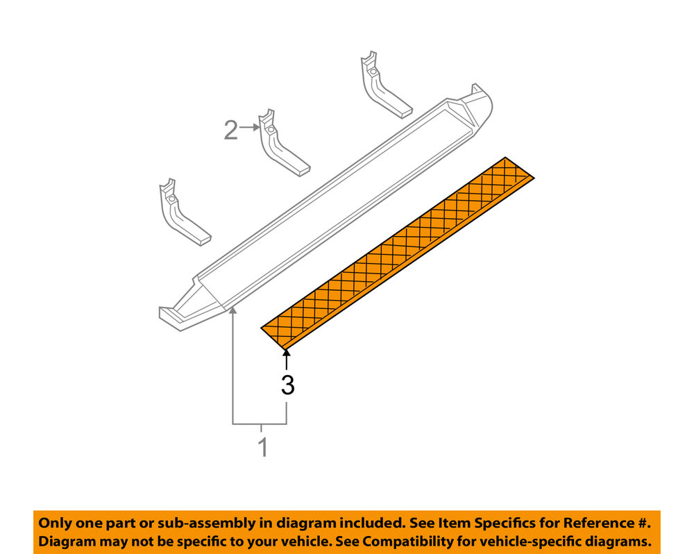 hight resolution of details about nissan oem 10 15 armada exterior step pad right 76946zq00a