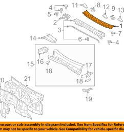 details about toyota oem 07 14 fj cruiser cowl panel windshield wiper motor cover 5570935010 [ 1000 x 798 Pixel ]