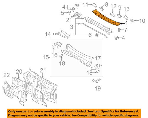small resolution of details about toyota oem 07 14 fj cruiser cowl panel windshield wiper motor cover 5570935010