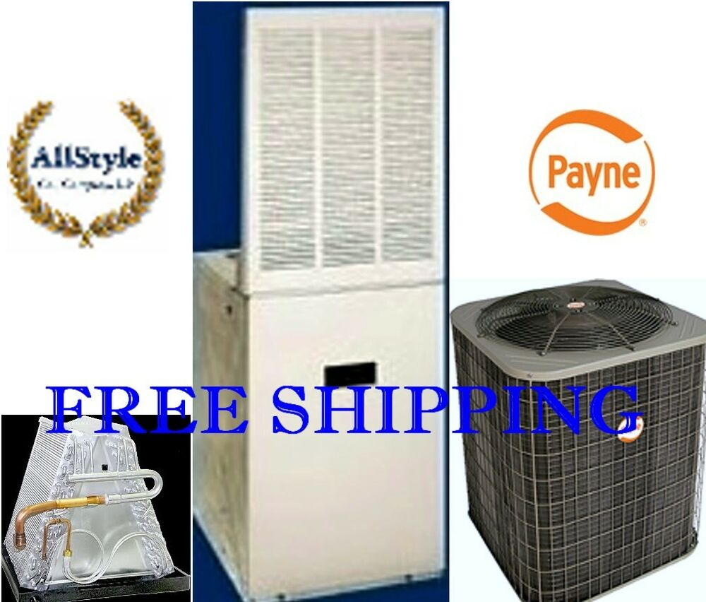 hight resolution of details about 3 5 ton r 410a 14seer mobile home system condenser 17kw electric furnace coil