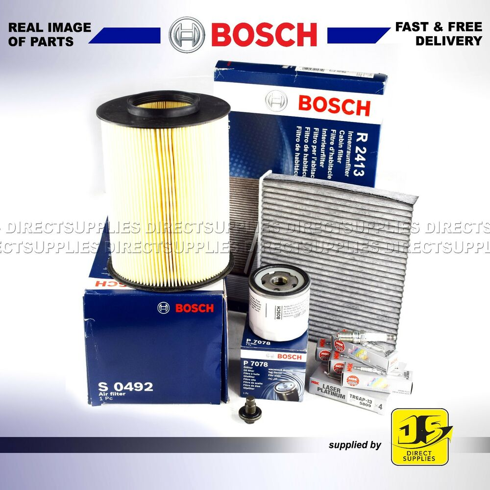 medium resolution of service kit for ford focus mk2 2 0 tdci bosch oil air fuel filters 2007 2010 service kits