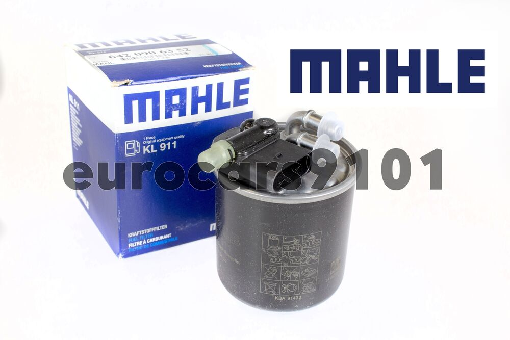 hight resolution of mercedes benz ml350 mahle fuel filter kl911 6420906452