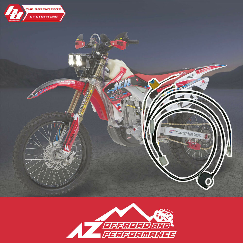 hight resolution of details about baja designs universal motorcycle wiring harness handlebar switch