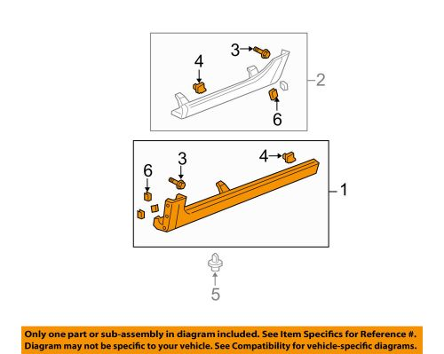 small resolution of details about acura honda oem 04 06 tl exterior rocker panel molding trim right 71800sepa01zf