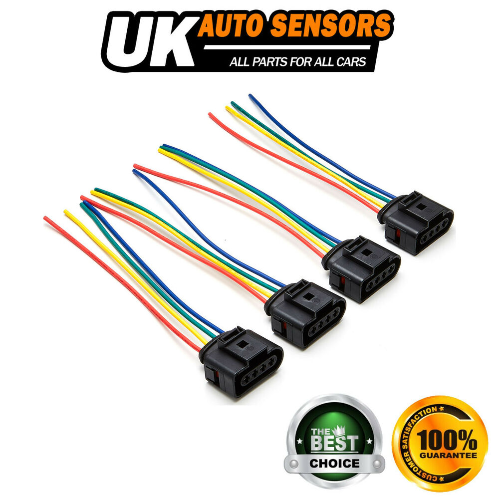 hight resolution of details about fits skoda octavia superb 1 8 t 4x ignition coil wiring harness aspc26wirx4sk
