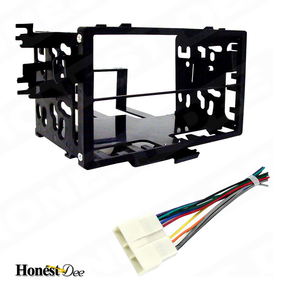 hight resolution of details about metra 95 7801 car stereo double din radio install dash kit wires for honda