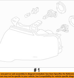 details about ford oem 15 16 expedition headlight head light headlamp fl1z13008c [ 1000 x 908 Pixel ]