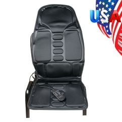 Folding Chair For Massage Cushion Xmen Guy In Wheelchair Us Heated Back Seat Massager Shiatsu Neck Details About Thigh Shoulder