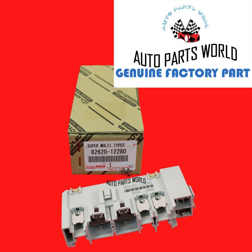 hight resolution of details about new genuine oem toyota corolla matrix scion tc xb fusible link block 82620 12280