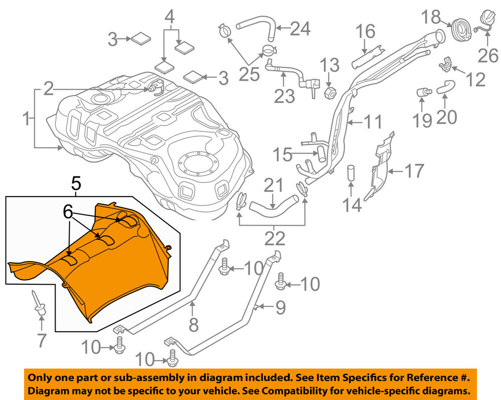hight resolution of details about mazda oem 14 18 cx 5 2 5l l4 fuel system shield kd5342740a