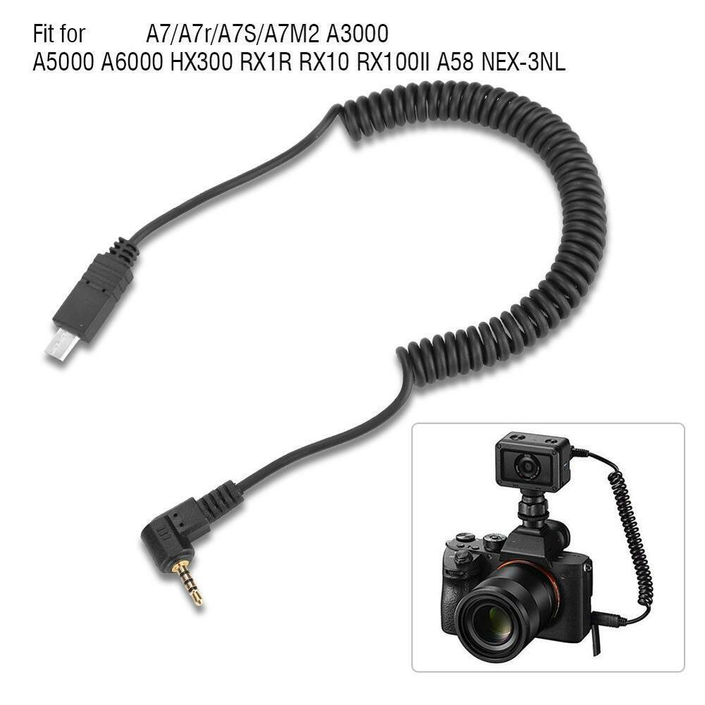 2.5mm S2Remote Trigger Shutter Release Cable for Sony A7
