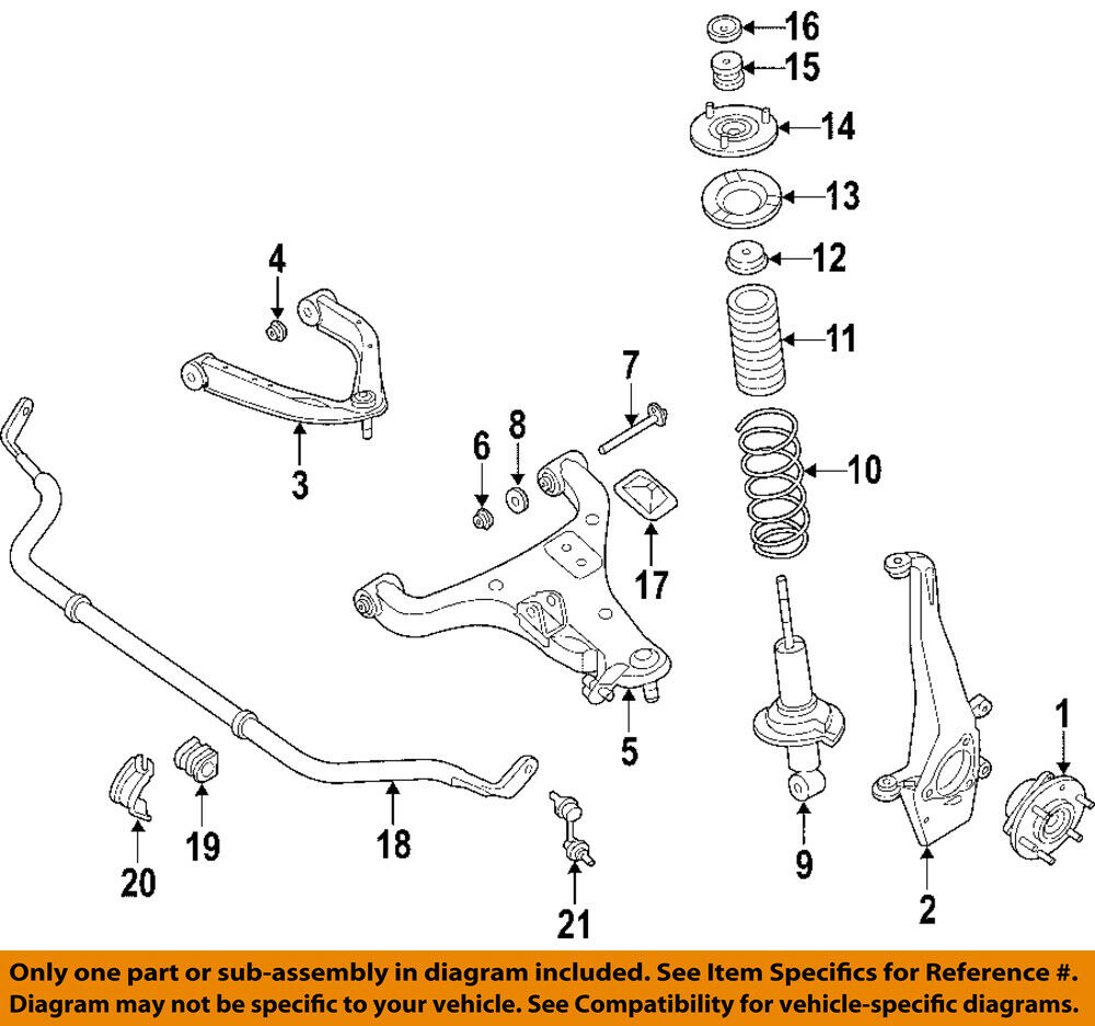 medium resolution of details about nissan oem front lower control arm 54501zr00a