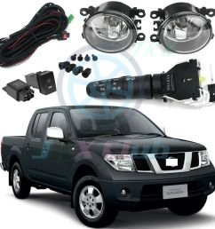 details about fog lights kit harness control switch for nissan frontier xterra 2005 2018 [ 1000 x 1000 Pixel ]