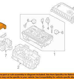 details about buick gm oem 12 16 verano 2 4l l4 fuse relay box upper cover 13302322 [ 1000 x 798 Pixel ]