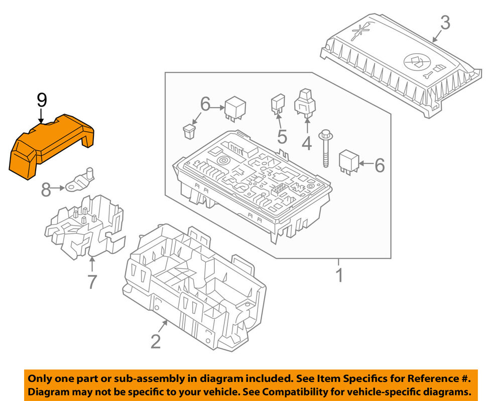 hight resolution of details about buick gm oem 12 16 verano 2 4l l4 fuse relay box upper cover 13302322