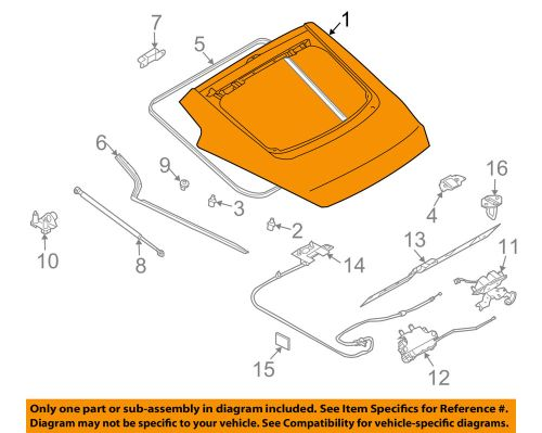 small resolution of details about nissan oem 2008 350z liftgate tailgate hatch panel skin kma0mcd7ma