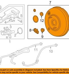 details about ford oem 13 14 fusion power brake vacuum booster dg9z2005e [ 1000 x 798 Pixel ]