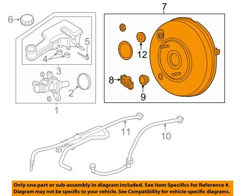 small resolution of details about ford oem 13 14 fusion power brake vacuum booster dg9z2005e