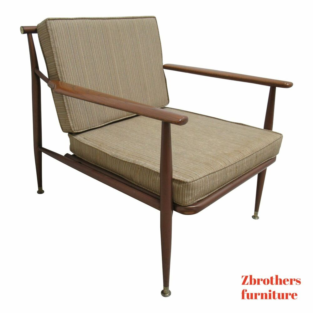 Danish Modern Lounge Chair Vintage Danish Modern Metal Low Slung Lounge Chair Ebay