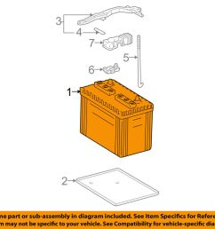 details about toyota oem battery 0054435060550 [ 1000 x 798 Pixel ]