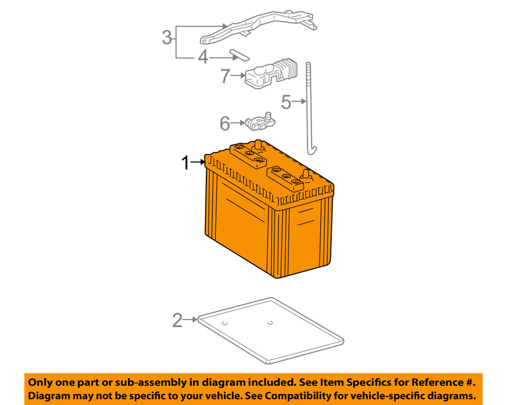 medium resolution of details about toyota oem battery 0054435060550