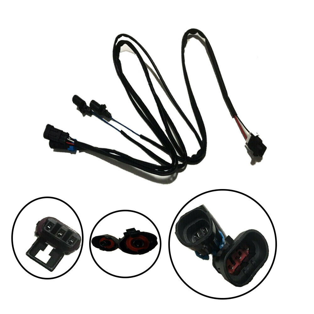 Knock and Cam Camshaft Sensor Extension Wiring Harness For