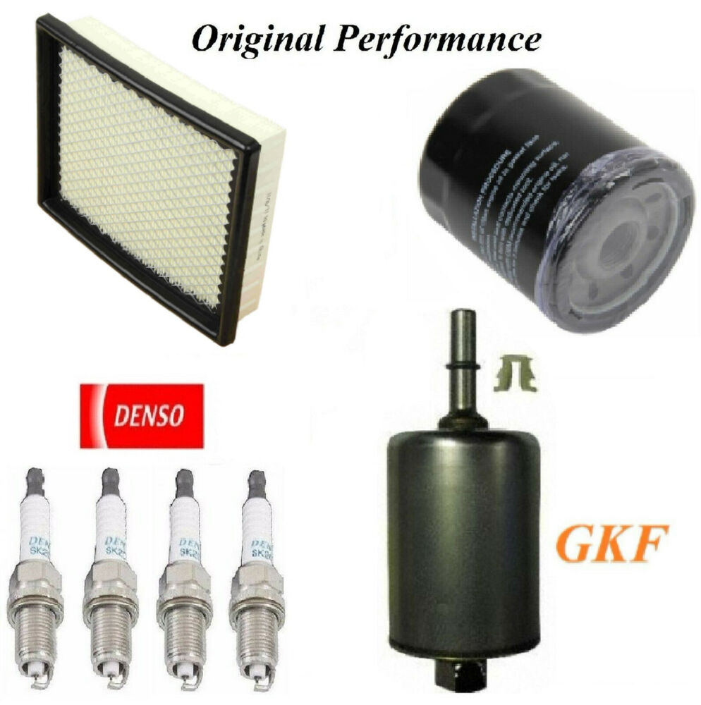hight resolution of details about tune up kit air oil fuel filters spark plugs for pontiac sunfire l4 2 4l 2002