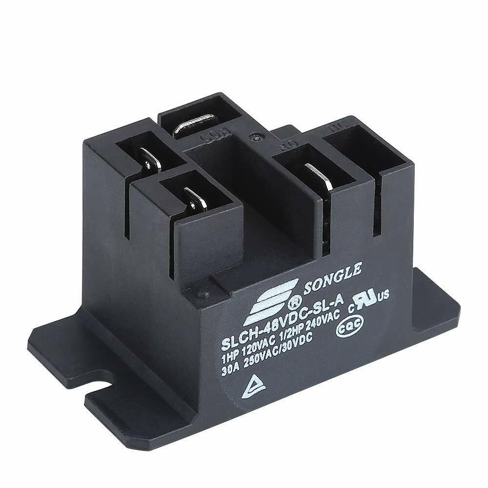 hight resolution of club car charger parts 101828601 48v relay powerdrive chargers for club car 95