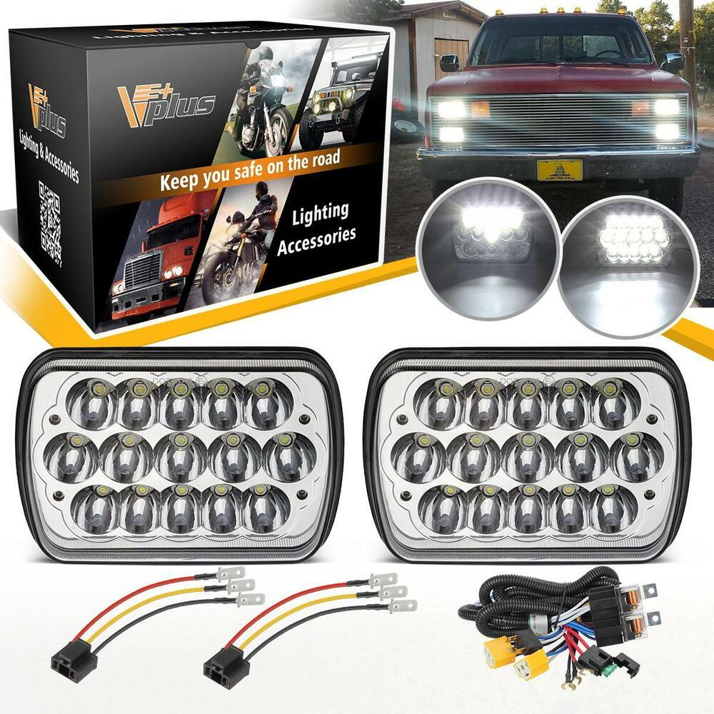 medium resolution of details about led headlight wire for toyota 95 97 tacoma 88 95 pickup chevy express van nissan