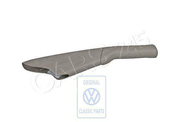 Genuine VW Golf hand brake lever handle with boot leather